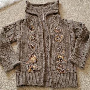 Antonio Marras alpaca and wool cardigan sweater L